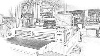 Andura automated laser cutting machine by Gemini CAD