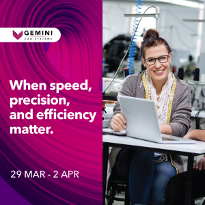 Gemini CAD Systems at Indotex 2021 Virtual Fair