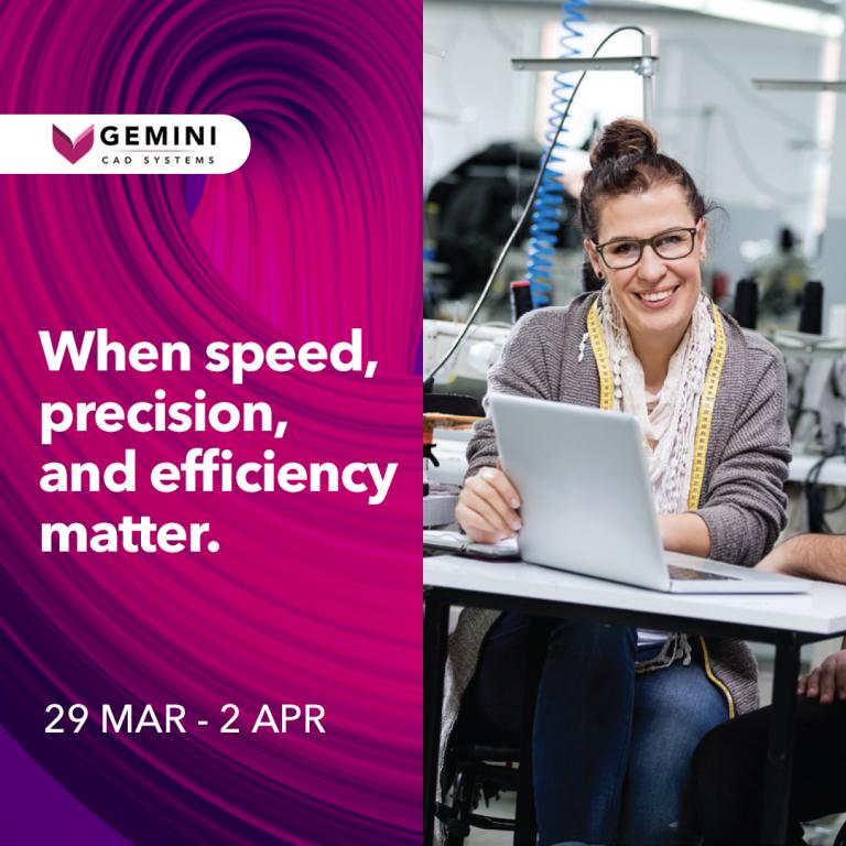 Gemini CAD Systems at Indotex 2021 Virtual Fair