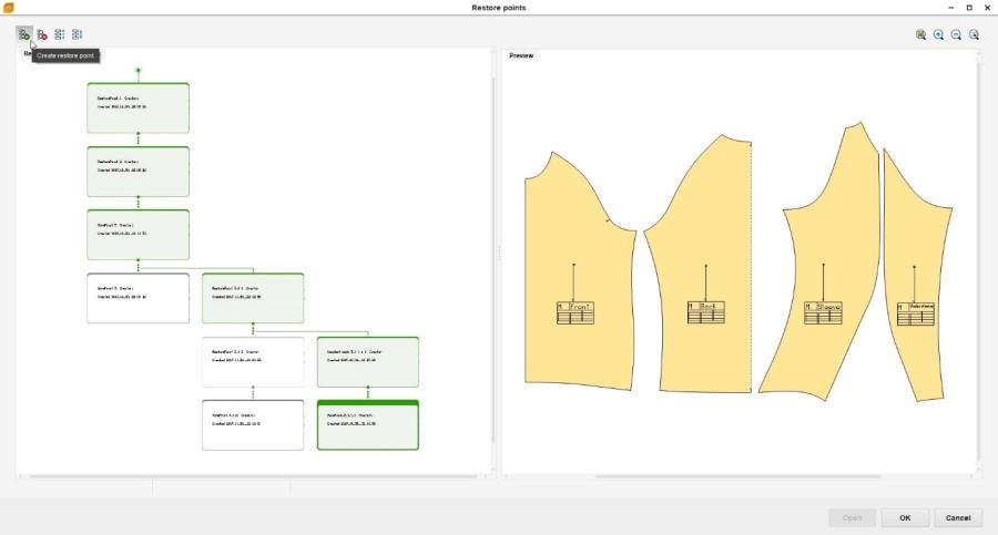 model-history pattern designer gemini cad