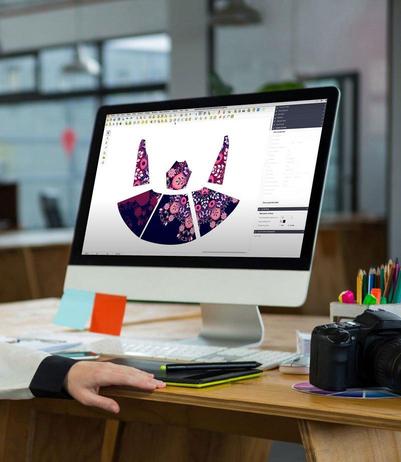 digital decoration ready to wear apparel